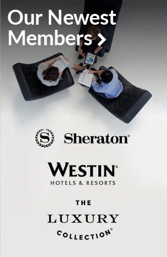 Our newest members | Sheraton, Westin Hotels & Resorts, The Luxury Collection