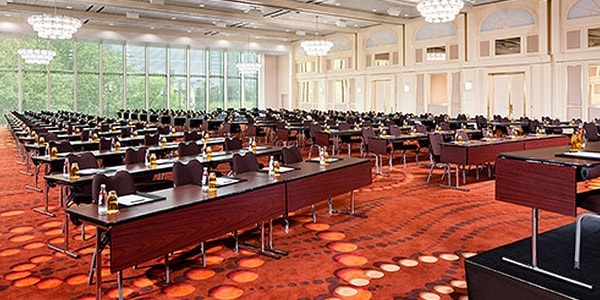 Platinum Ballroom at the Frankfurt Marriott Hotel