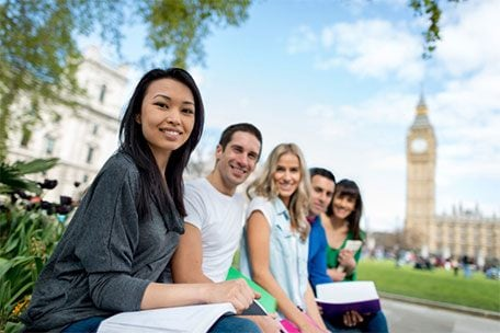 Student travel accommodation in London.