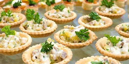 Banquet Quiches