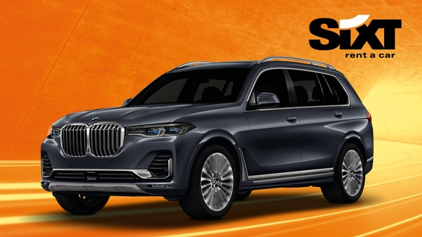 Black vehicle for Sixt Rent a Car