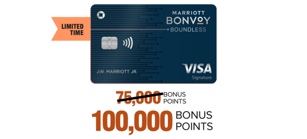 Marriott Bonvoy Boundless™ Credit Card from Chase