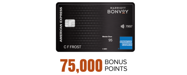 The Marriott Bonvoy Brilliant™ American Express® Card, 75K bonus points