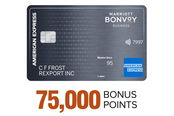 The Marriott Bonvoy Business™ American Express® Card