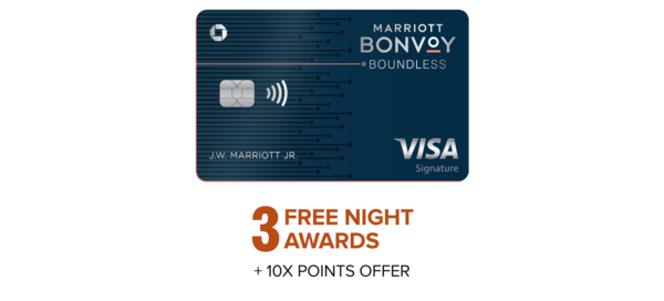 Learn more about Marriott Bonvoy Boundless™ Credit Card from Chase
