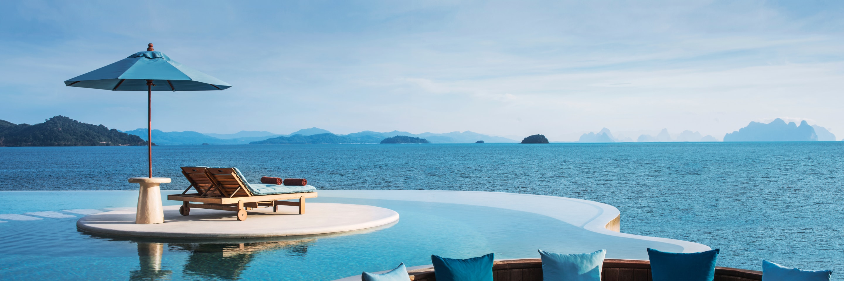 The Naka Island, a Luxury Collection Resort & Spa, Phuket, Tailândia-Piscina do resort