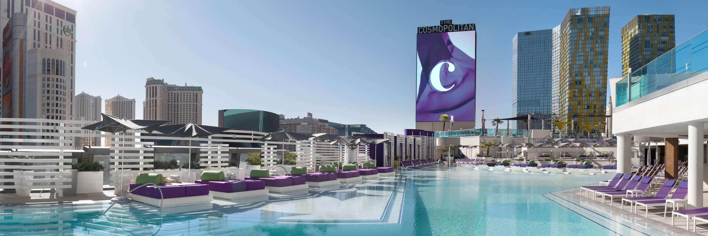 Outdoor pool at The Cosmopolitan of Las Vegas