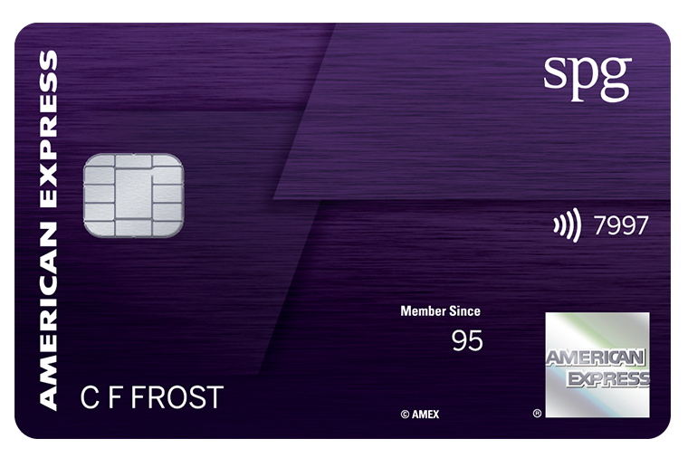 The New SPG® Amex Luxury Card