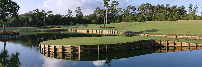 リゾートのゴルフコース