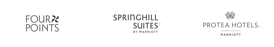 Four Points, SpringHill Suites by Marriott, Protea Hotels