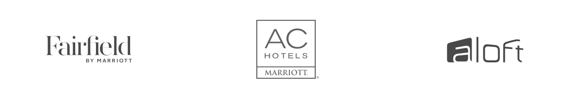Fairfield by Marriott, AC Hotels, Aloft
