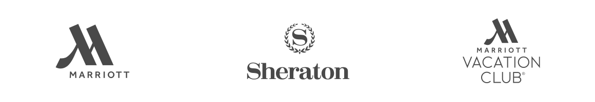Marriott Hotels, Sheraton, Marriott Vacation Club