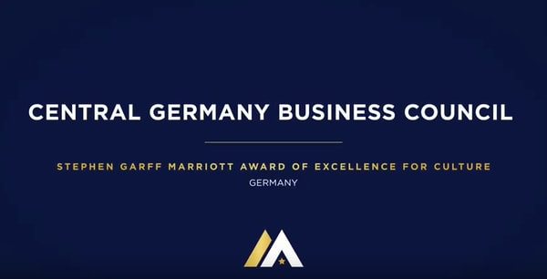 Central Germany Business Council, Stephen Garff Marriott Award of Excellence for Culture, Germany