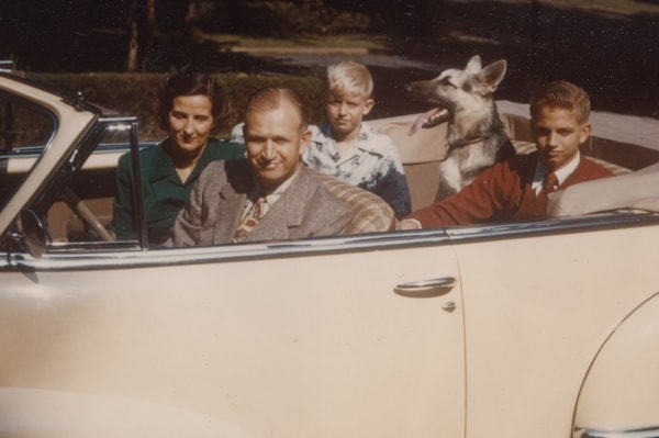 Clockwise, J. Willard, Alice, Richard, Duke & Bill