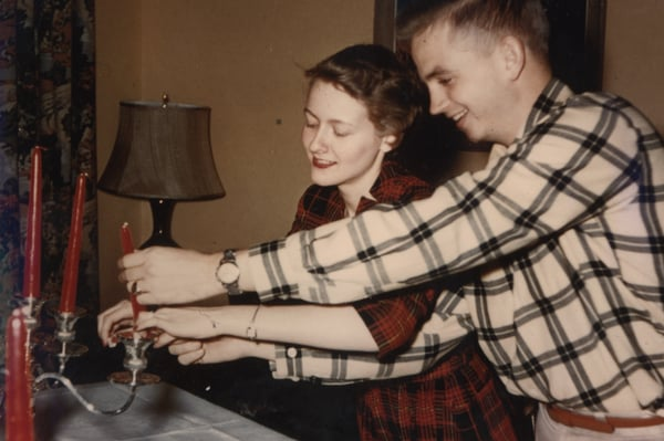 1954 Bill and Donna