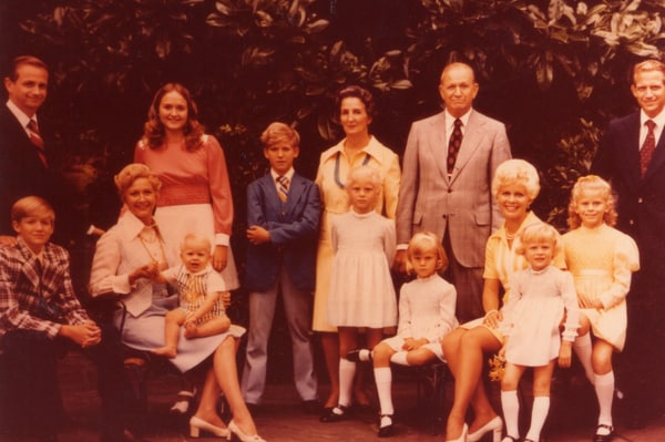 Marriott Family, ca. 1973