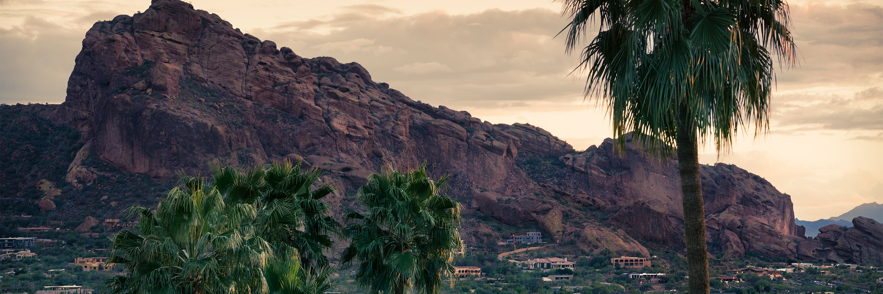 Camelback hiking near mountain hotels and resorts.