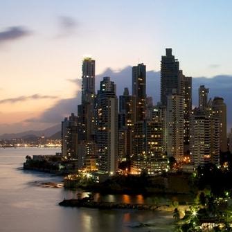 El Skyline de la ciudad de Panamá