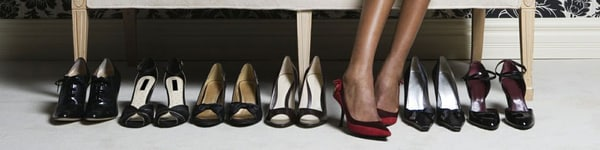 Retail therapy - Image of shoes