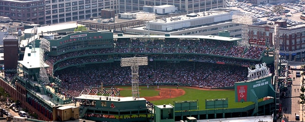 Fenway Park, home of the Boston Red Sox, and one of America's oldest baseball stadiums