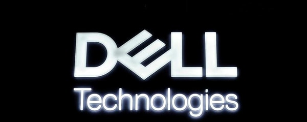 The Dell Technologies logo for the Dallas-based company.