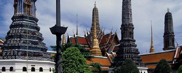 The Grand Palace in Bangkok, Thailand, which dates to 18th Century