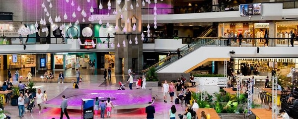 Shopping malls in Montreal are busy during winter as shoppers head indoors