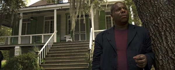"Director Steve McQueen in New Orleans where he filmed parts of ""12 Years a Slave"""