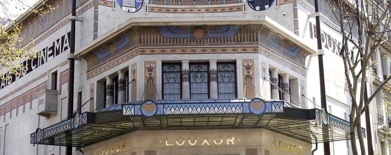 The historic Luxor Cinema in Paris is newly renovated and reopened