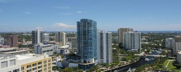 Hermosa vista de Fort Lauderdale en Florida