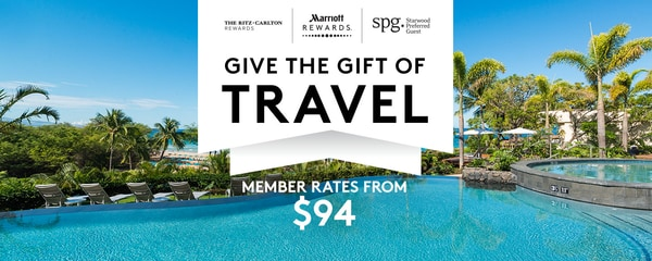 Give the gift of travel. Member rates from $94