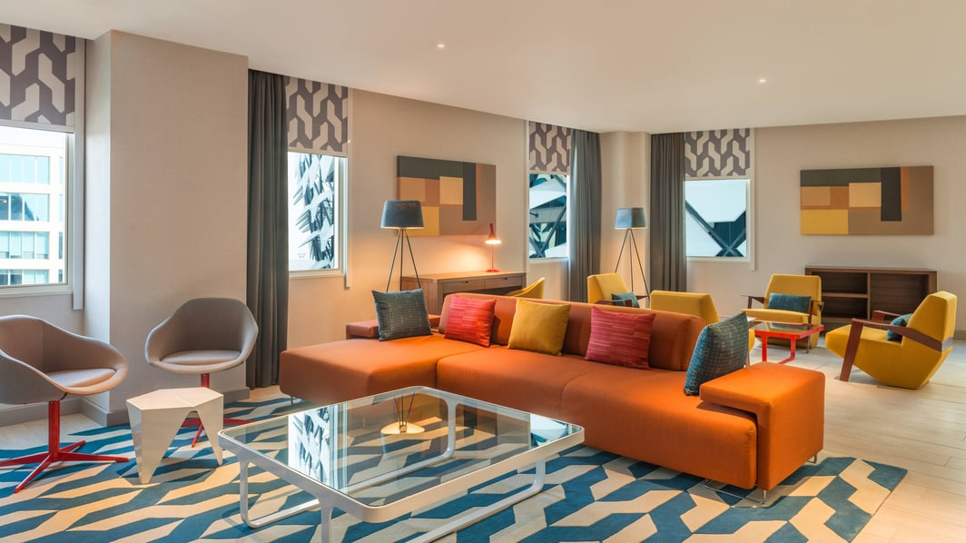 Ultra Savvy Suite - Living Room