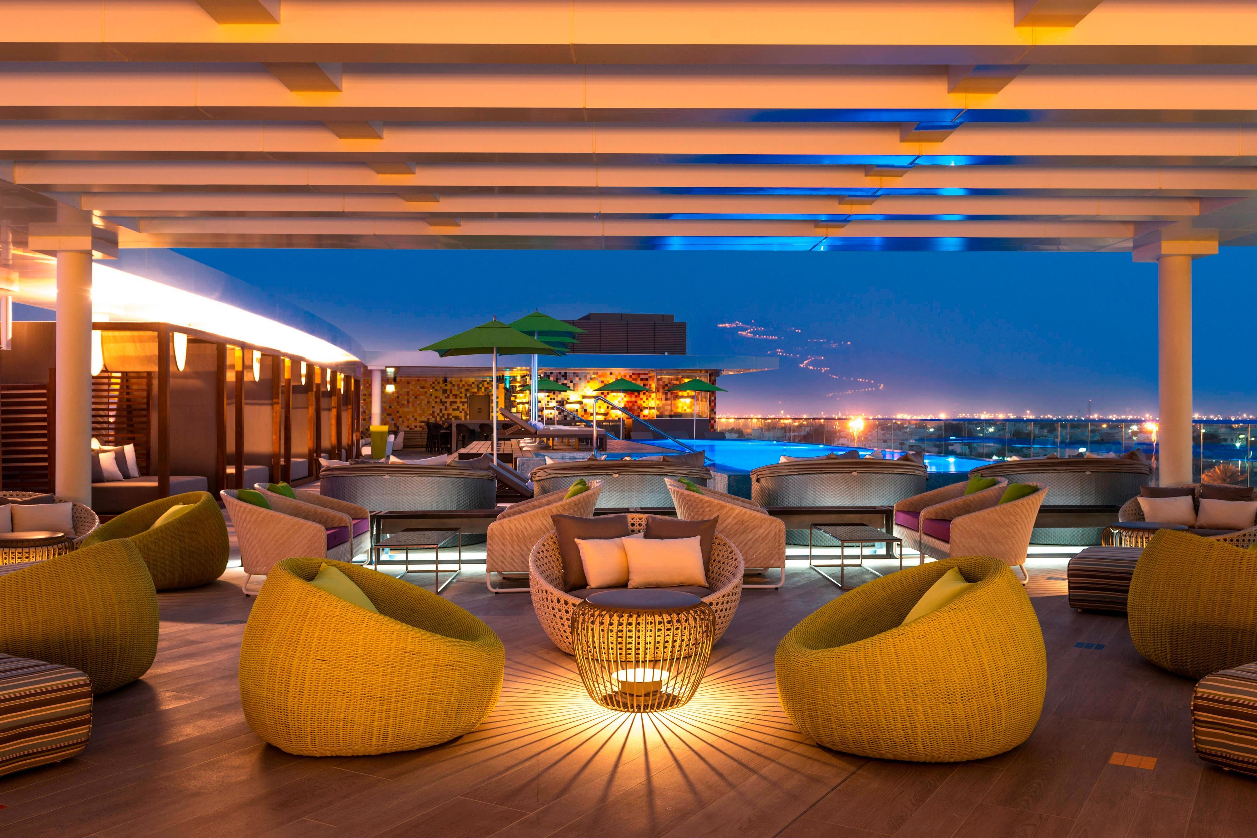 The Rooftop Lounge - Exterior