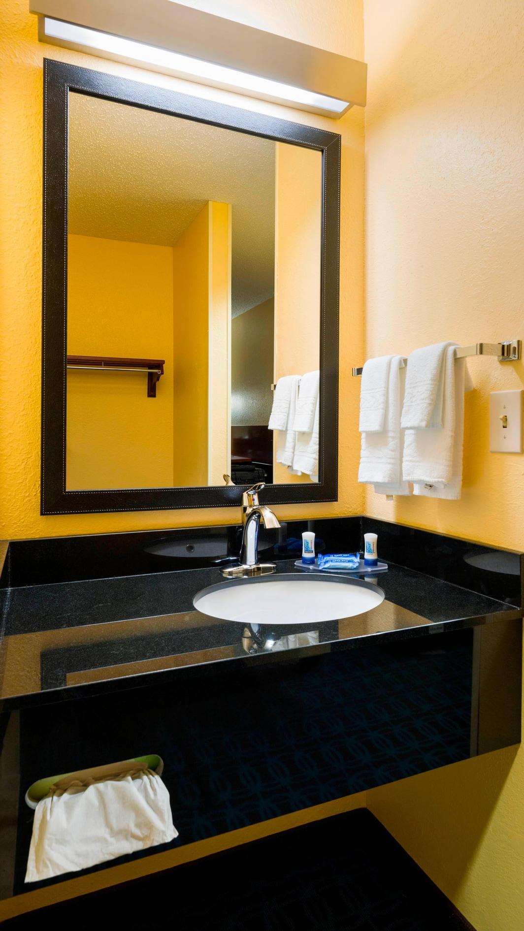 Allentown PA hotel bathroom
