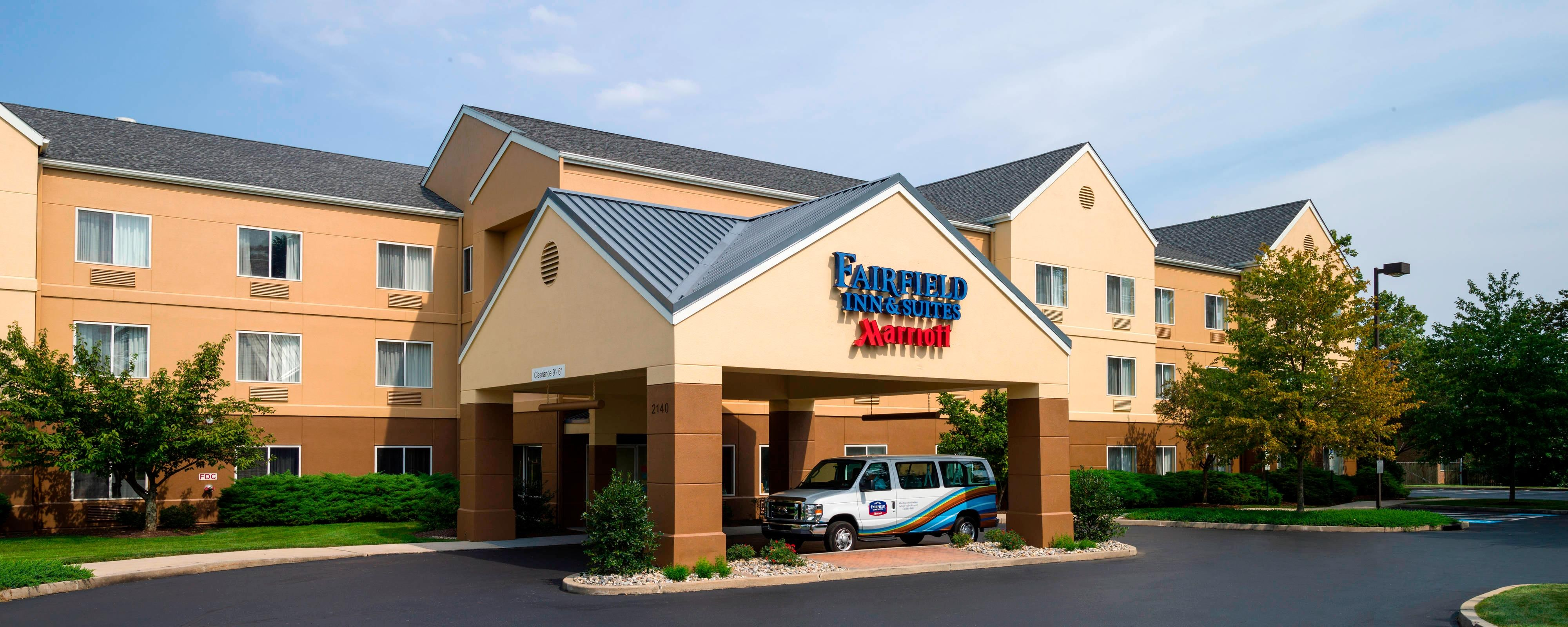 Exterior of Allentown Airport Hotel