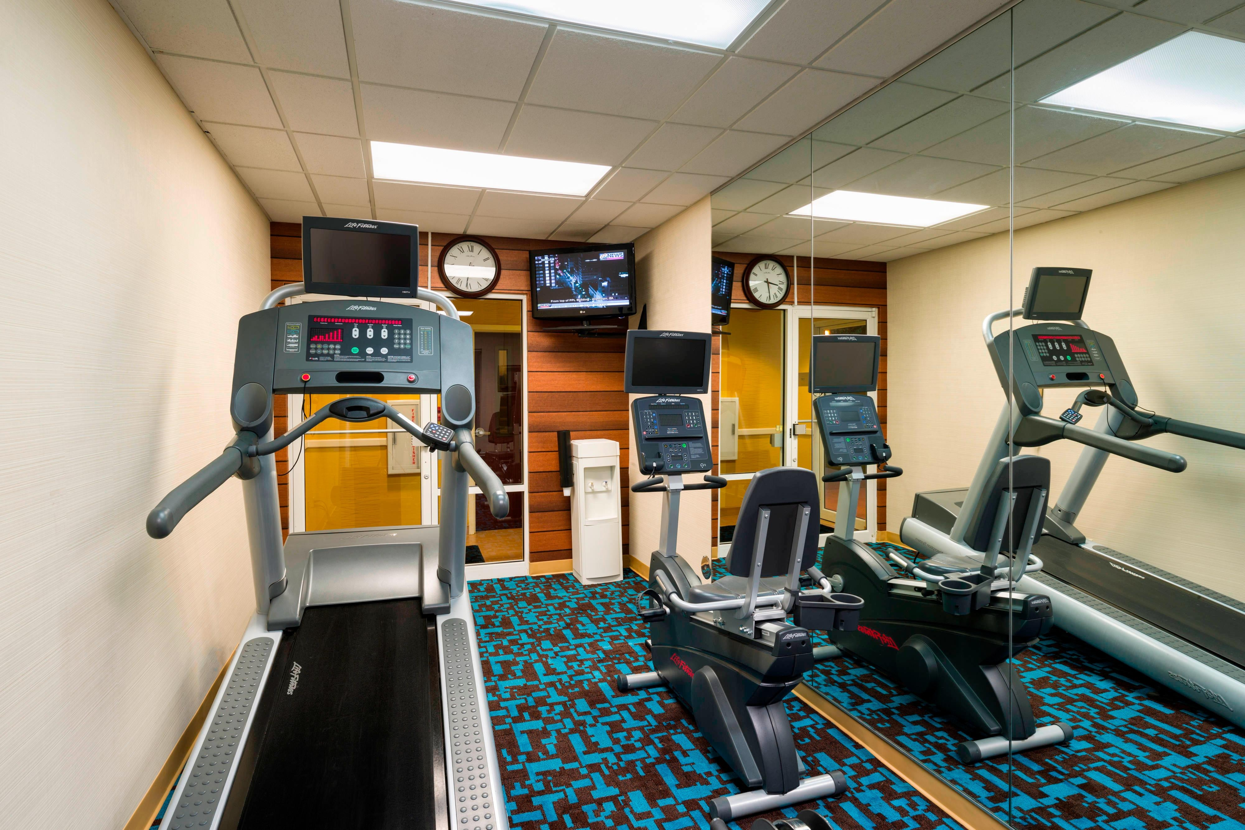 Bethlehem hotels with fitness center