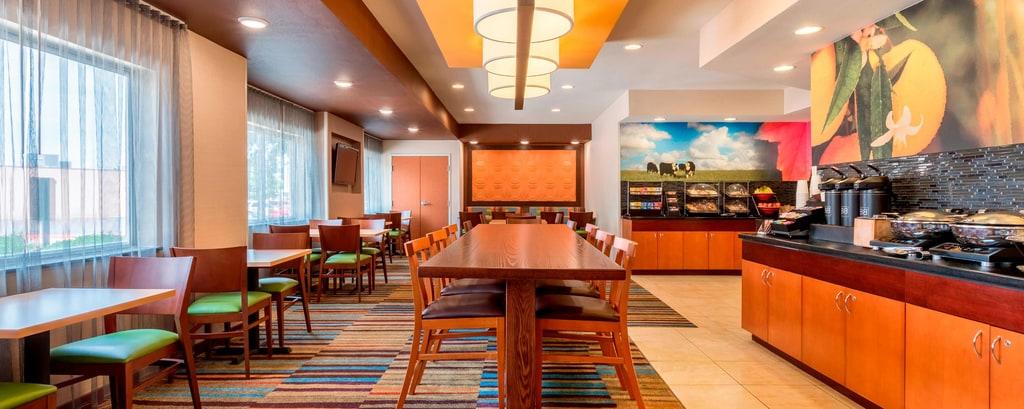Abilene Restaurants Fairfield Inn Suites Abilene