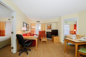 Albuquerque Hotel Two-Bedroom Suite