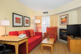 Albuquerque Hotel Two-Bedroom Suite - Living Area