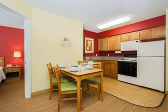 Albuquerque Hotel Two-Bedroom Suite - Kitchen
