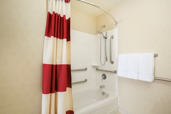 Albuquerque Hotel Accessible Suite Bathroom