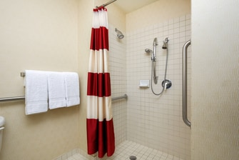 Albuquerque Hotel Accessible Bathroom Shower