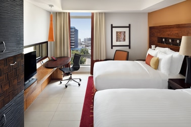 Deluxe Double/Double City View Guest Room