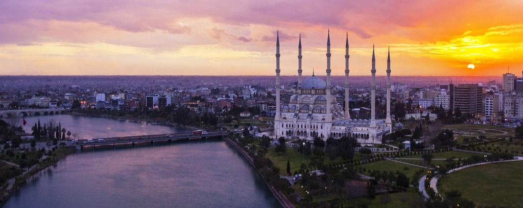 Vista da cidade de Adana