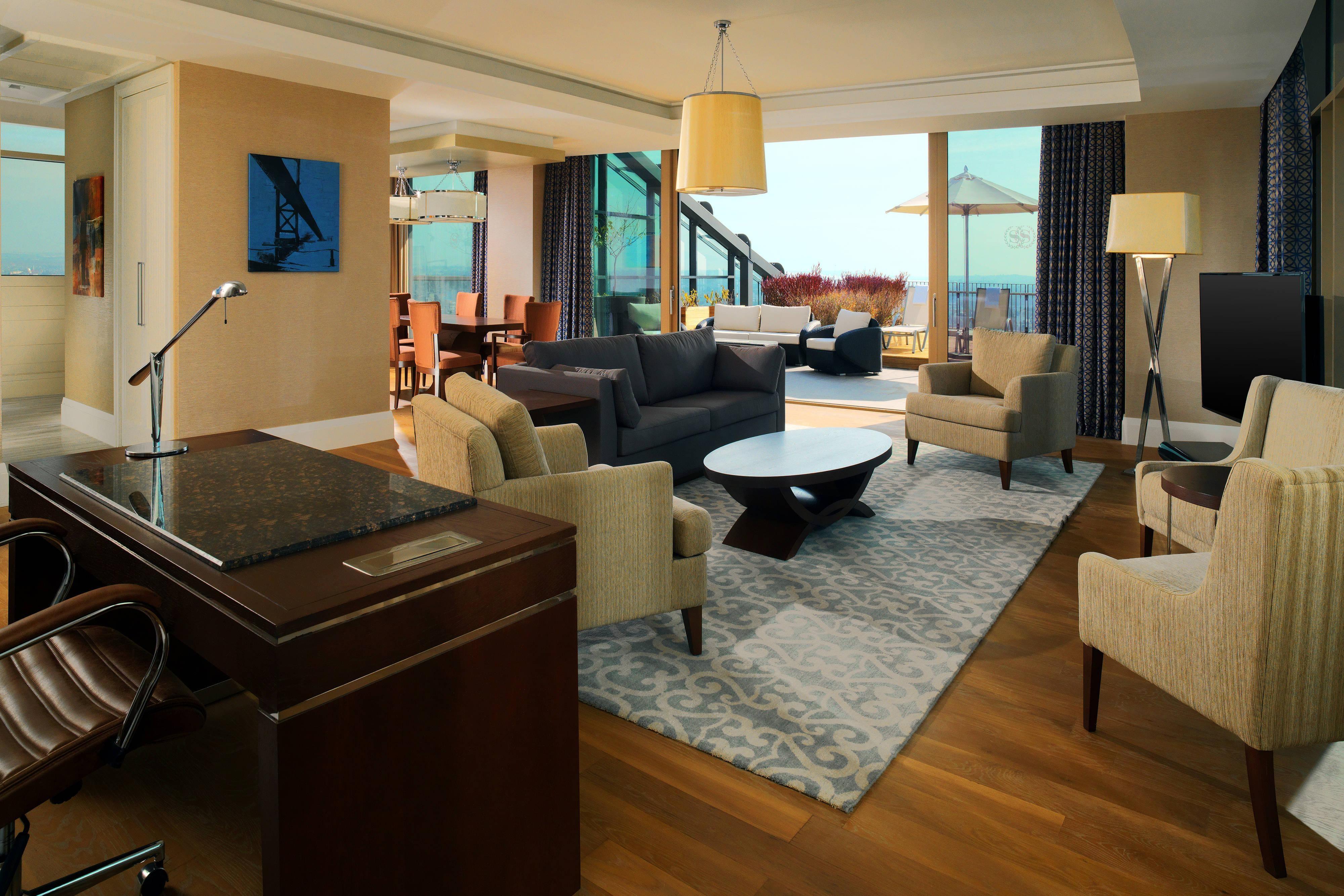 Suite Ejecutiva Deluxe - Sala de estar