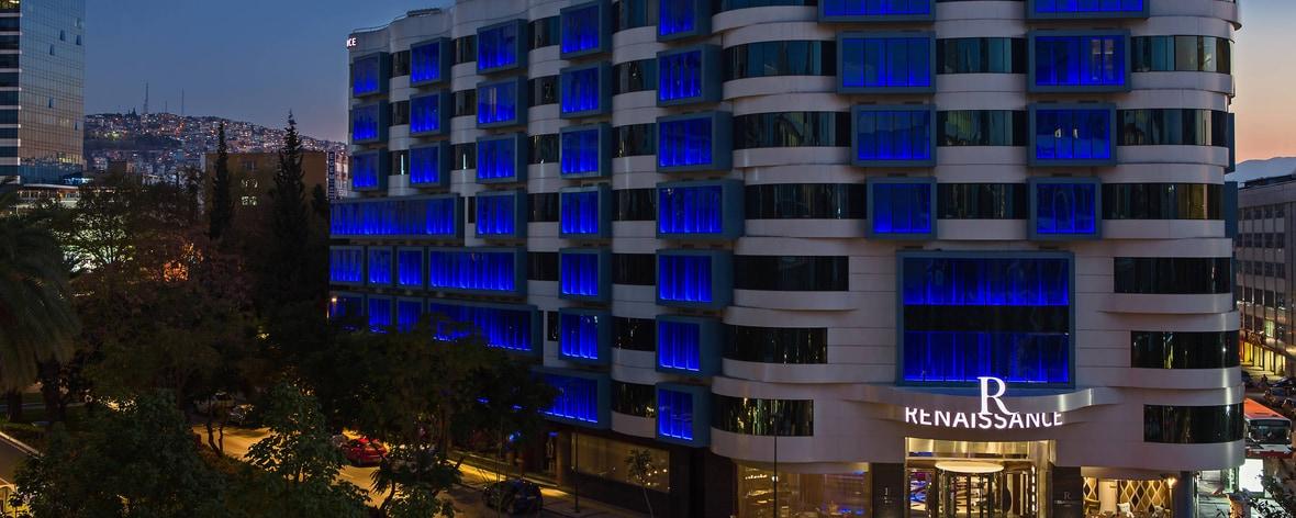 Five star Renaissance Izmir Hotel