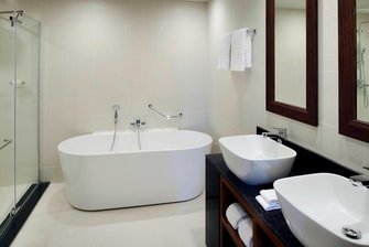 Marriott Executive Apartments Addis Ababa Bathroom