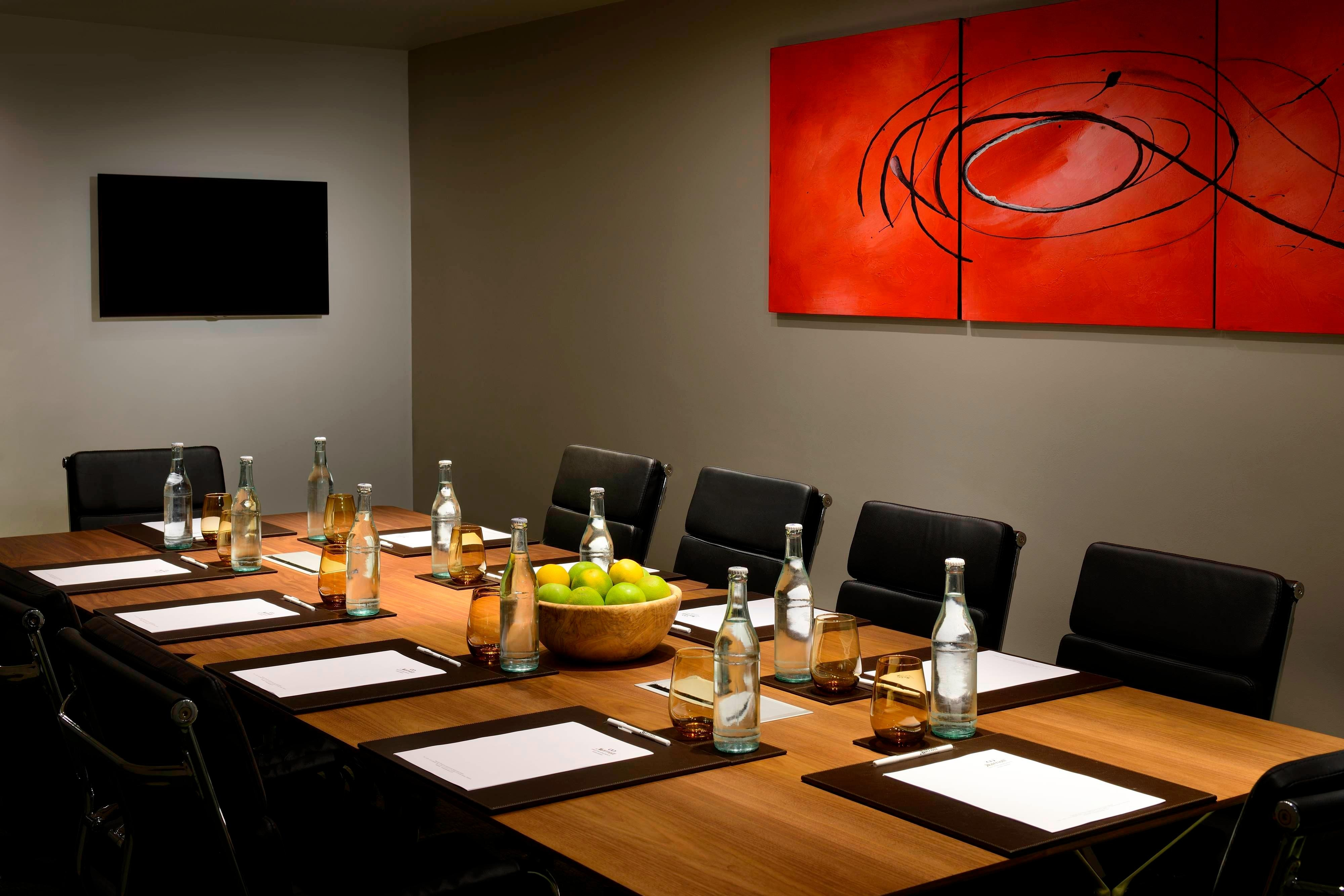 Marriott Executive Apartments Addis Ababa Meeting Room