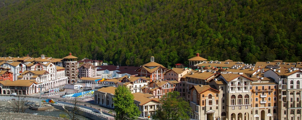 Vista del resort Gorky Gorod