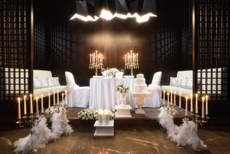 Wedding setup in Sochi Marriott